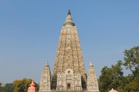 gaya: Mahabodhy Temple in Bodhgaya, Bihar, India.