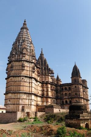 rajput: Chaturbhuj Temple in Orchha, Madhya Pradesh, India. Stock Photo