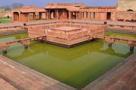 uttar: Fatehpur Sikri - ancient city near Agra, India, Uttar Pradesh