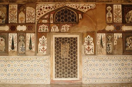 jehan: Baby Taj in Agra, Uttar Pradesh, India Editorial