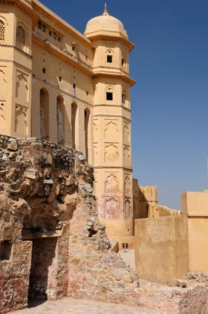 Beautifoul Amber Fort near Jaipur city in India. Rajasthan Stock Photo - 12098329