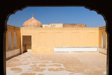 Beautifoul Amber Fort near Jaipur city in India. Rajasthan Stock Photo - 12098322