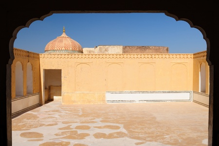 Beautifoul Amber Fort near Jaipur city in India. Rajasthan Stock Photo - 12098322