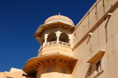 Beautifoul Amber Fort near Jaipur city in India. Rajasthan Stock Photo - 12098325