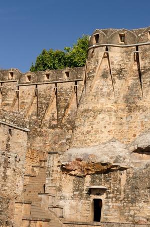 jagmandir: Beautifoul Fort Chittor in  Chittorgarh, India. Rajasthan. Wall