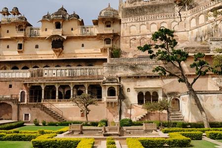 rajput: Palace in Bundi city in Rajasthan, India.
