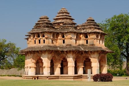 karnataka: Templo en ruinas de Hampi antiguos, Karnataka, India Foto de archivo