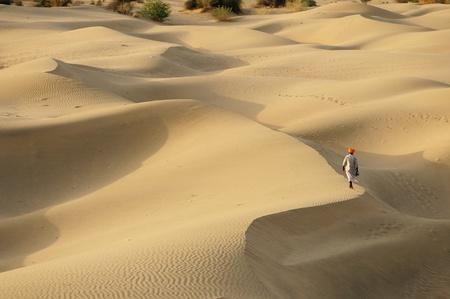 thar: Thar desert near Jaisamler. Rajasthan, India.