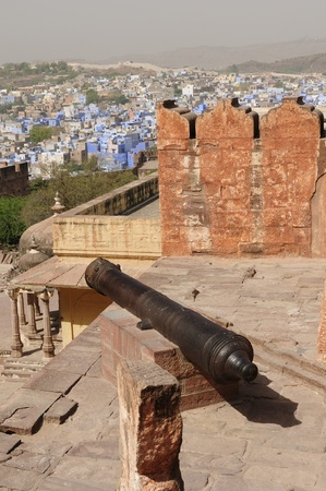 maharaja: View on the Jodphur city with Fort, India. Rajasthan