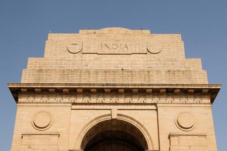 uttar: India gate in Delhi, Uttar Pradesh, India