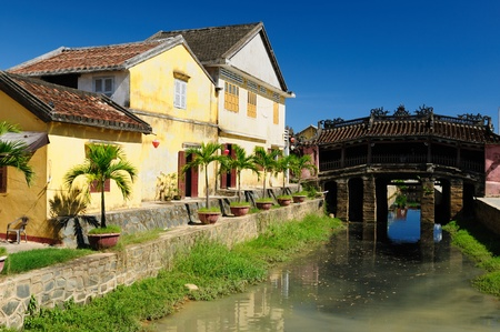 Hoi An city - highlight of any trip to Vietnam. Japanese covered brigde  Vietnam photo