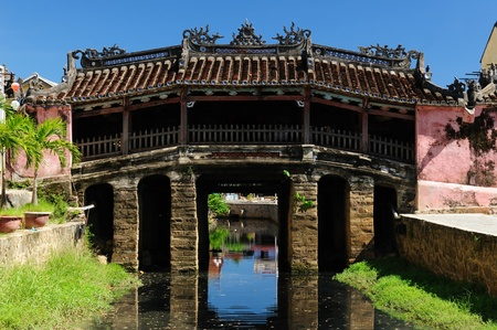 Hoi An city - highlight of any trip to Vietnam. Japanese covered brigde photo