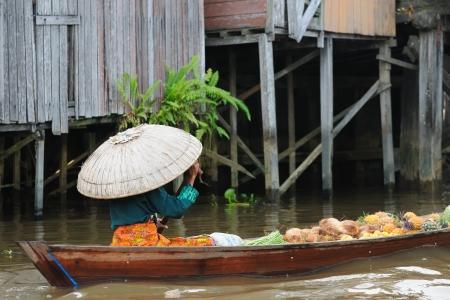 floating market: Banjarmasin - Kalimantan