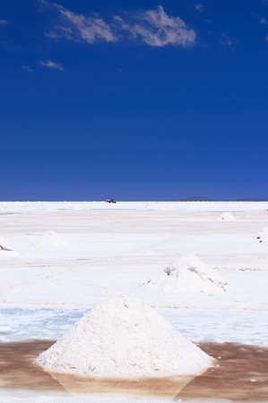 Bolivia -  the world s largest salt flat sits at a lofty 3653m and blankets an amazing 12,106  sq km, the surreal landscape  Salar the Uyuni photo