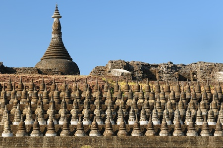 built in: Myanmar  Burma , Mrauk U temples  Kothaung Temple - one of the Mrauk U highlights  Built in 1553 by King Minbuns, to outdo his pop