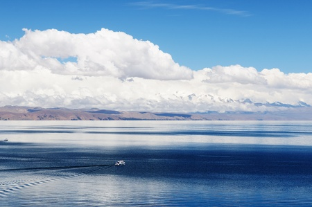 Bolivia – Inca prehistoric ruin's on the Isla del Sol, on the Titicaca lake, the largest highaltitude lake in the world (3808m) This photo present Chincana labyrinth complex in the north. photo
