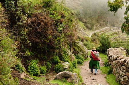 Peru, Cotahuasi canyon  The wolds deepest canyon  The canyon also shelters several remote traditional rural settlements