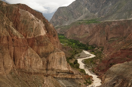 the deepest: Peru, Cotahuasi canyon  The wolds deepest canyon  The canyon also shelters several remote traditional rural settlements