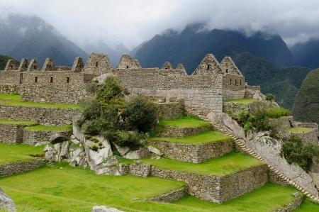 Peru, Machu Picchu the lost ancient incas town