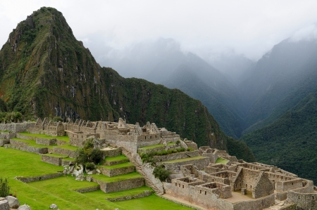 Peru, Machu Picchu the lost ancient incas town photo