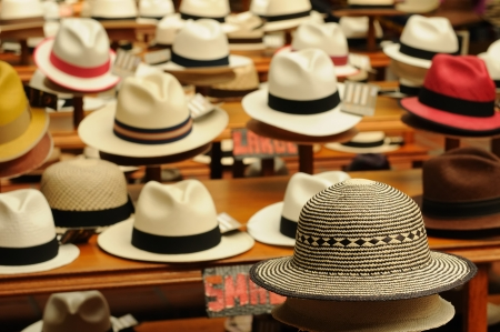 panama: Ecuador - Panama Hats,  is a traditional brimmed hat made in Cuenca