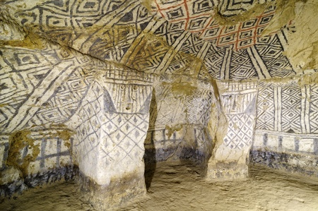 pre columbian: Colombia, Tierradentro (7th and 9th) is one great pre Columbian attractions. There are burial caves painted with red, black and whte geometric patterns. Some are shallow, others up to 8m deep