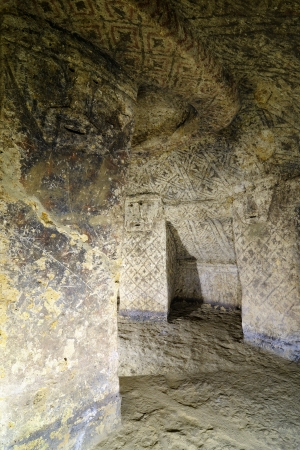 pre columbian: Colombia, Tierradentro  7th and 9th  is one great pre Columbian attractions  There are burial caves painted with red, black and whte geometric patterns  Some are shallow, others up to 8m deep