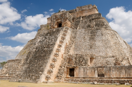 relevance: Mexico, Uxmal Maya ruins is the archaeological site of greatest relevance in the Puuc Route  Renowned for the beautiful friezes of its buildings facades, created with small stones perfectly polished