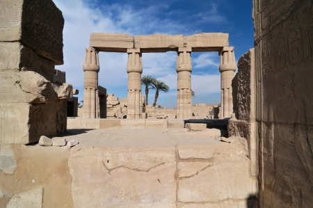 Egypt, Temple of Karnak photo