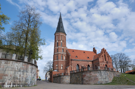 Lithuania, Kaunas - prince Witold Church photo