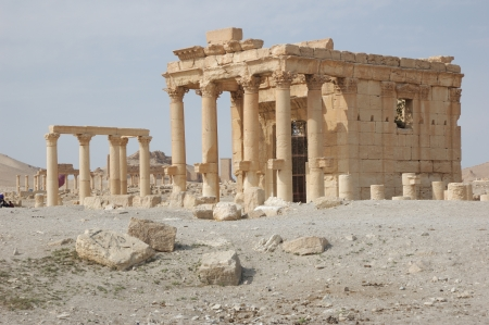 City Of Palmyra Ruins Of The 2nd Century Ad Stock Photo Picture
