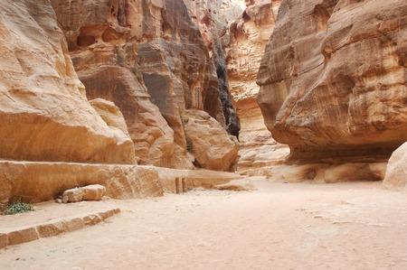 nabatean: Petra in Jordan - Nabatean aqueduct