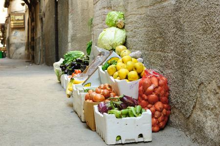 damascus: Damascus street souk Stock Photo