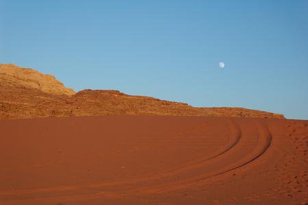 nabataean: Jordan - Wadi Rum rock desert