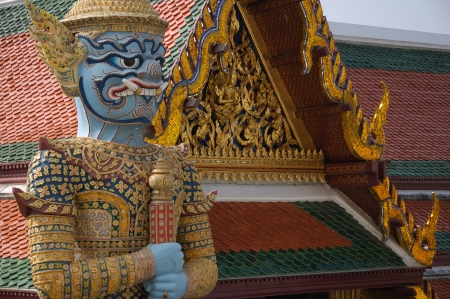 thailand s landmarks: View on King Palace in Bangkok Editorial