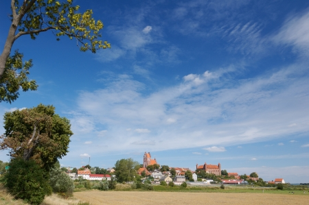 Landscape - Gniew city photo