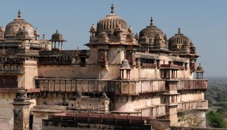 madhya pradesh: India, Jehangir Mahal Palace in Orchha, Madhya Pradesh