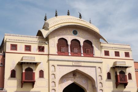 jagmandir: Ancient gate to the Jaipur city in India  Rajasthan