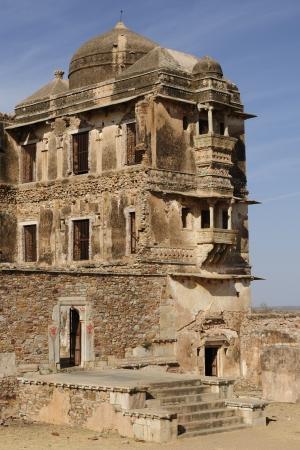 jagmandir: Beautifoul Fort Chittor in  Chittorgarh, India  Rajasthan  Palace Stock Photo