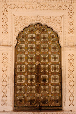 rajput: Typical example of Indian architecture in the state Rajasthan