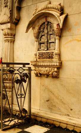 bikaner: Temple of rats  Karni Mata Mandir  near Bikaner of state Rajasthan, India Stock Photo