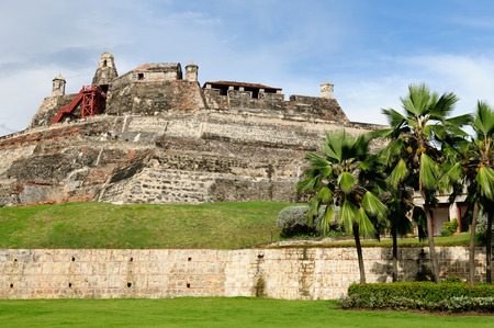 Cartagena - the colonial city in Colombia is a beautifllly set city, packed with historical monuments and architectural treasures photo