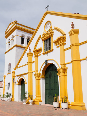 domingo: Mompos - the colonial city in Colombia, is a town lost in space and time. The picture present Santo Domingo churche in Mompos