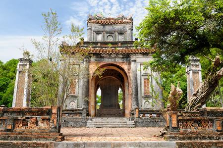 ベトナム ・ フエ市に近い古代のトゥドゥック帝廟