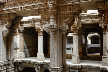 gujarat: Adalaj Stepwell is a Hindu water building in the village of Adalaj, Ahmedabad, close to town in the Indian state of Gujarat.