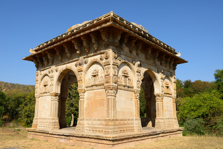 gujarat: Champaner - Pavagadh Archaeological Park is a historical city in the state of Gujarat. Kevda Masjid mosque.