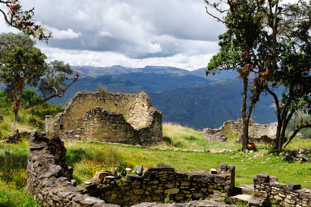 grandeur: South America, Peru, Kuelap matched in grandeur only by the Machu Picchu, this ruined citadel city in the mountains near Chachapoyas