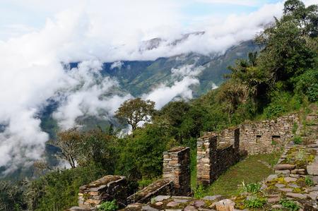 inca ruins: South America - Choquequirao lost ruins (mini - Machu Picchu), remote, spectacular the Inca ruins near Cuzco