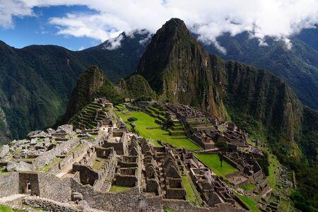 the place is important: South America, Peru, Machu Picchu