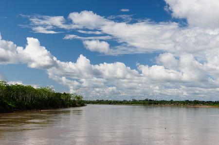 río amazonas: South America, Amazonas landscape. The photo present  Amazon river, Brazil